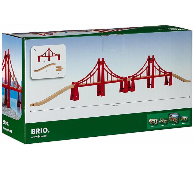 Brio Dubbele Hangbrug