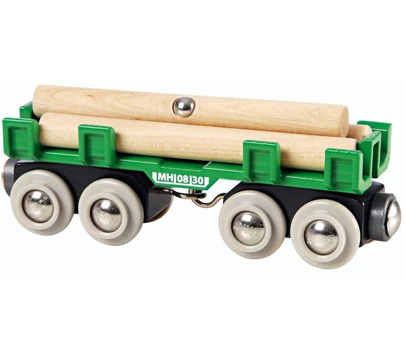 Brio Houttransport Wagon