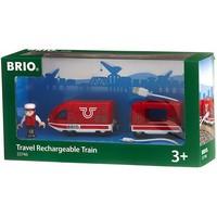 Brio Oplaadbare Rode Passagierstrein