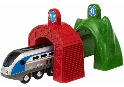 Brio Brio Smart Locomotief Met Actietunnels