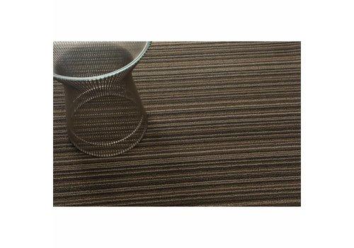 Chilewich Chilewich Deurmat Skinny Stripe Latte 61 x 91