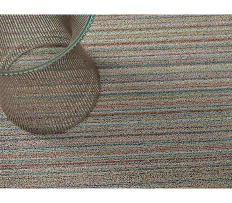 Chilewich Deurmat Skinny Stripe Soft Multi 46 x 71