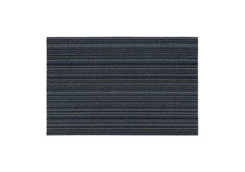 Chilewich Chilewich Deurmat Skinny Stripe Blue 46 x 71