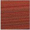 Chilewich Chilewich Loper Skinny Stripes Orange 61 x 183