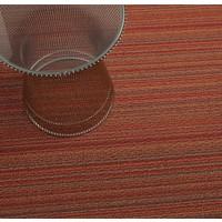 Chilewich Loper Skinny Stripes Orange 61 x 183