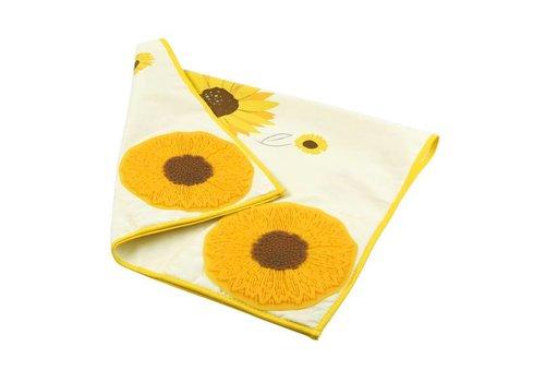 Charles Viancin Charles Viancin zonnebloem handdoek/pannenlap
