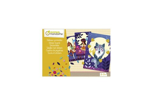 Avenue Mandarine Avenue Mandarine Creative Box Sticker Boards Nature