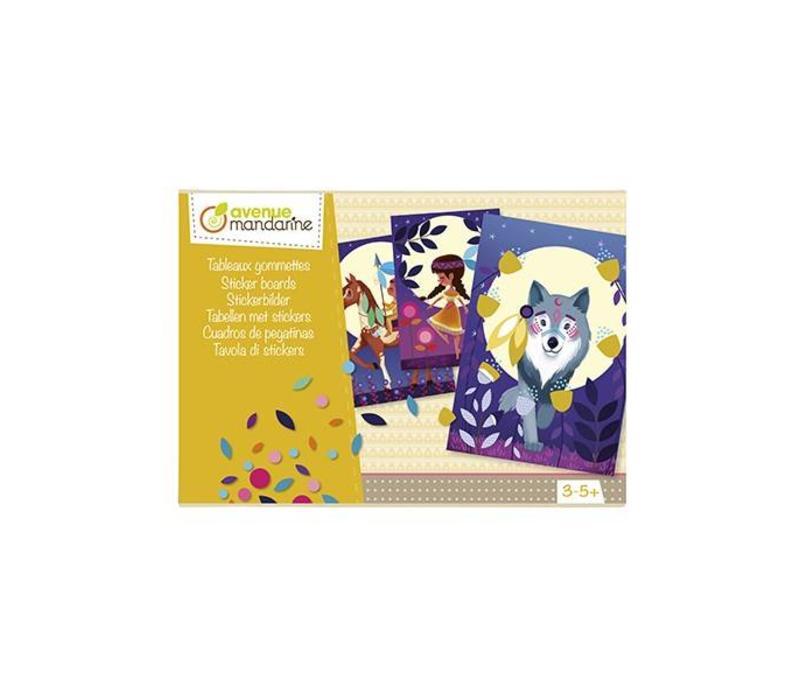 Avenue Mandarine Creative Box Sticker Boards Nature