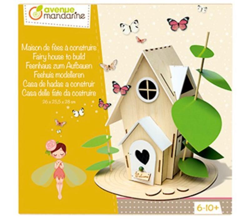 Avenue Mandarine Feeënhuisje om Zelf Te Bouwen