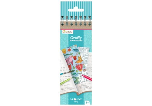Avenue Mandarine Avenue Mandarine Graffy Bookmark Flowers