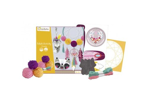 Avenue Mandarine Avenue Mandarine Creative Box Multi Activity Dreamcatcher