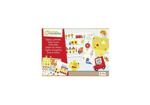 Avenue Mandarine Avenue Mandarine Creative Box Sticker Boards Vormen In Het Verkeer