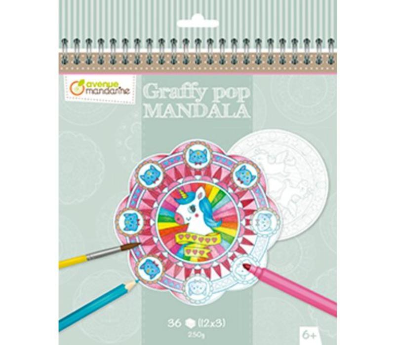 Avenue Mandarine Graffy Pop Mandala Magic