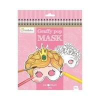 Avenue Mandarine Graffy Pop Mask Meisjes