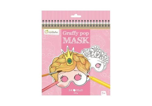 Avenue Mandarine Avenue Mandarine Graffy Pop Mask Meisjes