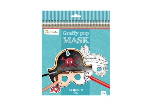 Avenue Mandarine Avenue Mandarine Graffy Pop Mask Jongens