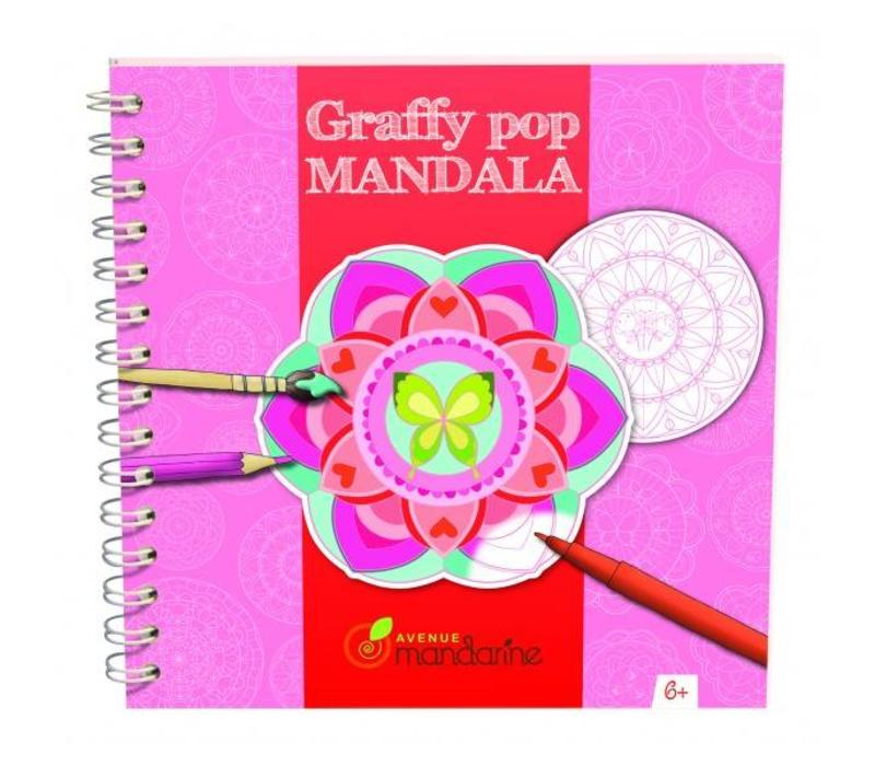 Avenue Mandarine Graffy Pop Mandala Meisjes
