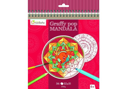 Avenue Mandarine Avenue Mandarine Graffy Pop Mandala Christmas