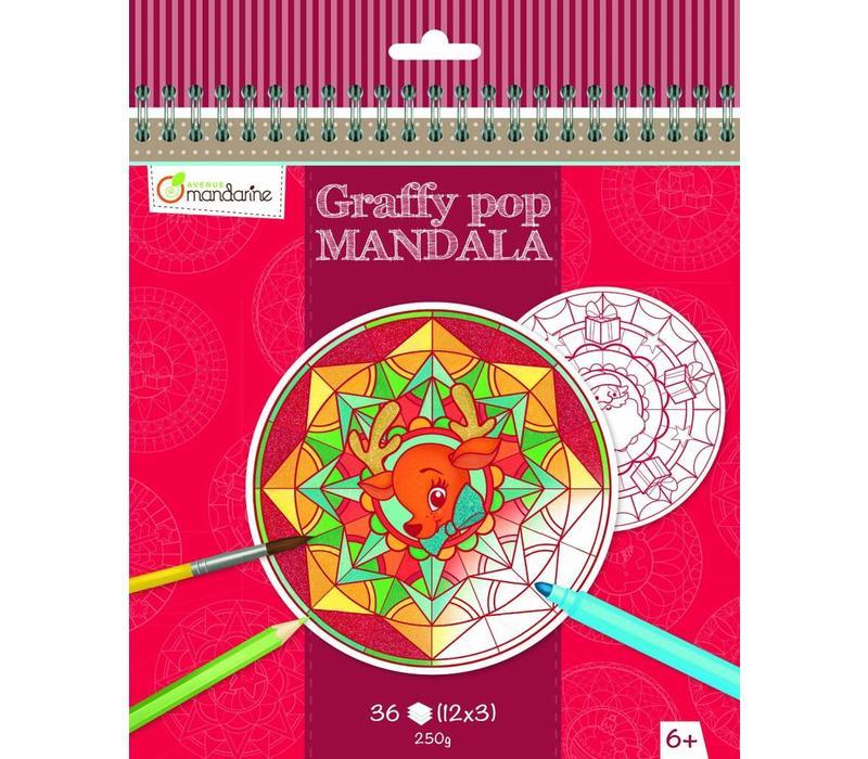 Avenue Mandarine Graffy Pop Mandala Christmas