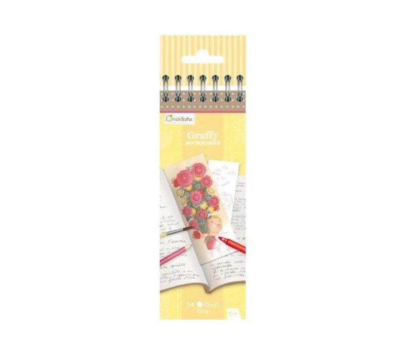 Avenue Mandarine Graffy Bookmark Mama