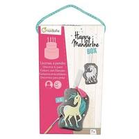 Avenue Mandarine Happy Box Eenhoorns om te schilderen