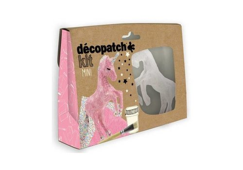 Decopatch Decopatch Mini Kit Eenhoorn