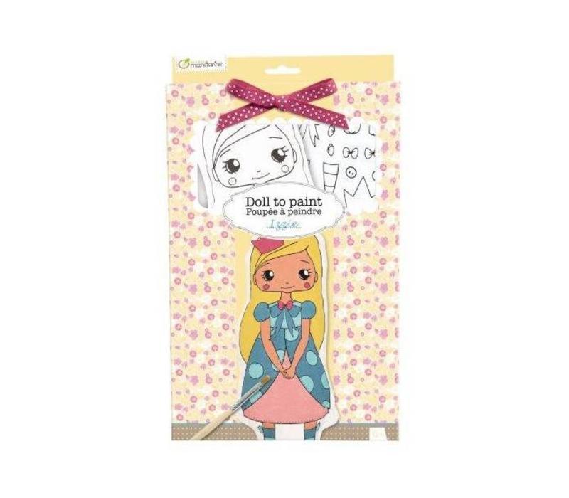 Avenue Mandarine Doll to Paint Izzie