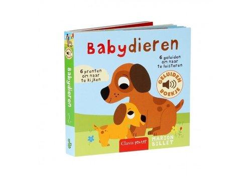 Clavis Clavis Geluidenboekje Babydieren