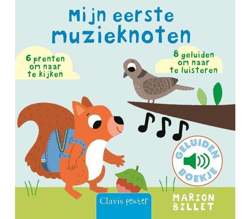 Clavis Geluidenboekje Mijn Eerste Muzieknoten