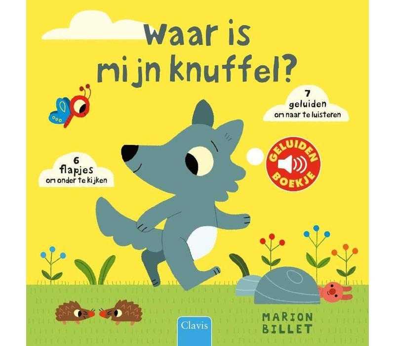 Clavis Geluidenboekje Waar is Mijn Knuffel?