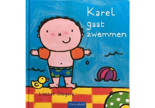 Clavis Clavis Leesboek Karel Gaat Zwemmen