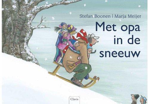 Clavis Clavis Leesboek Met Opa In De Sneeuw