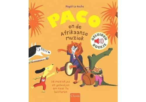 Clavis Clavis Geluidenboekje Paco En De Afrikaanse Muziek