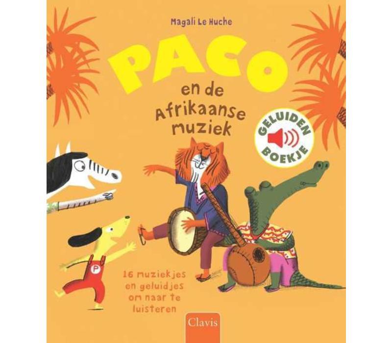 Clavis Geluidenboekje Paco En De Afrikaanse Muziek