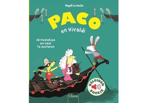 Clavis Clavis Geluidenboekje Paco en Vivaldi