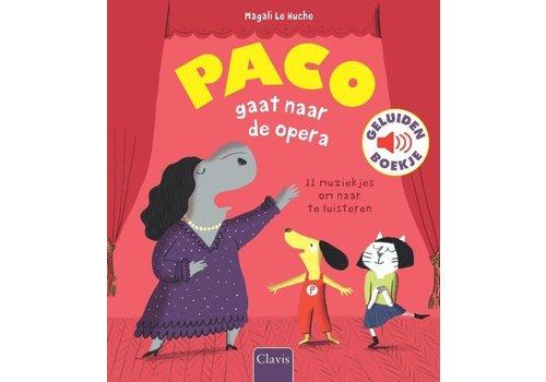 Clavis Clavis Geluidenboekje Paco Gaat Naar De Opera