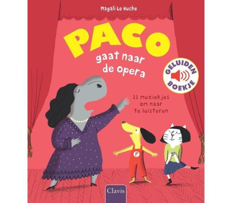 Clavis Geluidenboekje Paco Gaat Naar De Opera