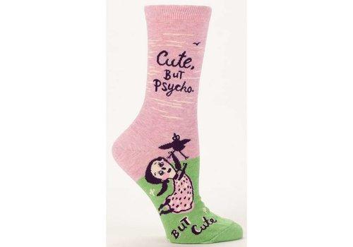 Blue Q Blue Q Women's Socks  'Cute, but Psycho'