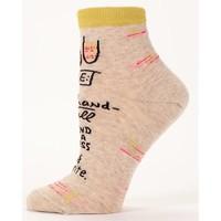 Blue Q ankle socks ladies 'You're my favorite'
