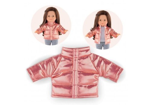 Corolle Corolle Quilted Jacket Pink 36cm