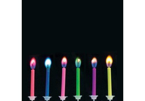Creative Party Colour flame kaarsjes
