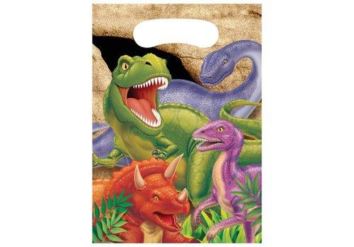Creative Party Dino expeditie geschenkzakjes