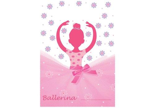 Creative Party 'Ballerina' geschenkzakjes