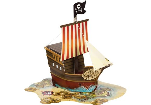 Creative Party Pirate party centerpiece