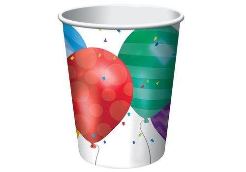 Creative Party Happy birthday ballonnen drinkbekers