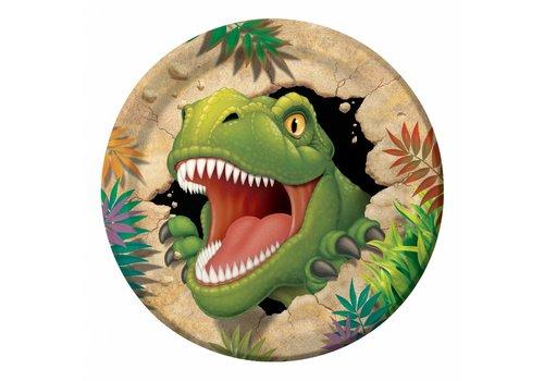 Creative Party Dino expeditie borden