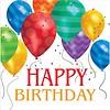 Creative Party 'Happy Birthday Balloons' Napkins