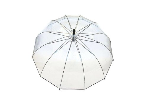 Smati Smati Ladies' umbrella N° 12 transparent / black