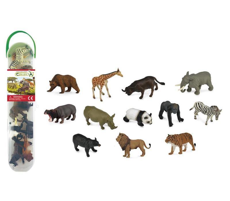 Collecta Wilde Dieren Mini 12 st