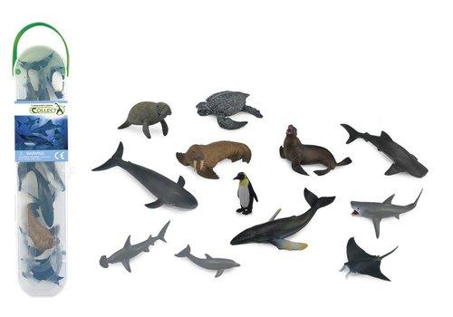 Collecta Collecta Sea creatures Mini 12pcs Set A